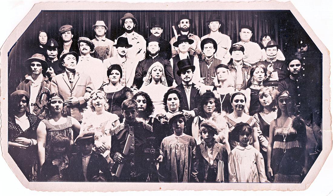 """""""Balada per a una coronació"""". Foto: José Luis Muñoz. Arxiu Falla Na Jordana."""