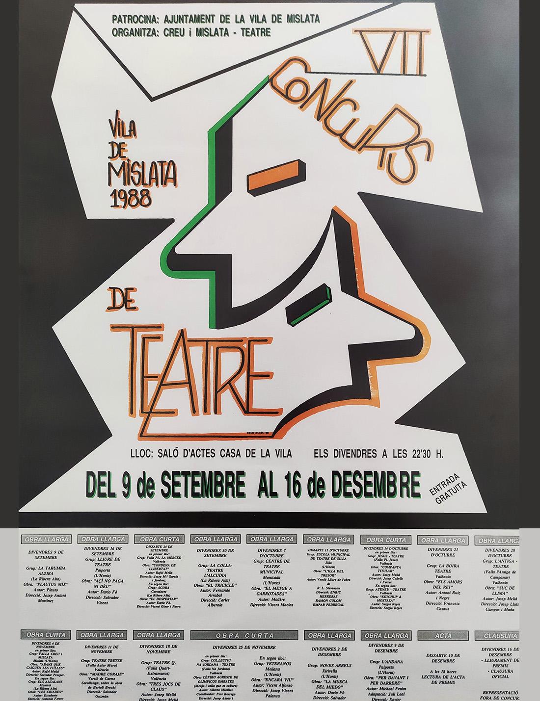 VII Edició / El tricicle / LA COLLA-TEATRE, L'ALCÚDIA