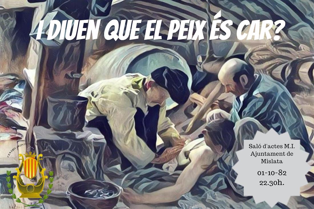 I Edició / Y diuen que el peix es car? / GRUP DE TEATRE DEL CENTRE ARTÍSTIC I MUSICAL DE MONTCADA
