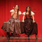 """Carmen Comes i Rocio Chico, per """"Mercaders de Venècia"""" de la companyia La Trinxera"""