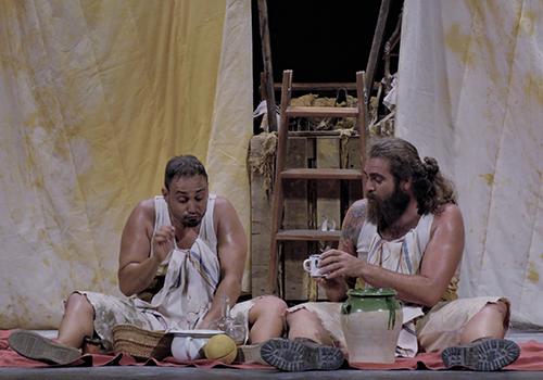 ... De polls i altres actors - SÀHARA TEATRE (Elx, Baix Vinalopó)